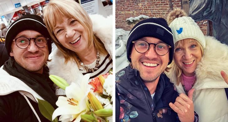 15 пъти знаменитости споделиха топли снимки със своите родители